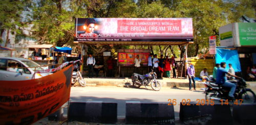 Amberpet Busshelters Advertising, in Hyderabad - MeraHoardings