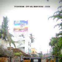 Fixbillboards Sbimainroad Advertising in Pittapuram – MeraHoardings