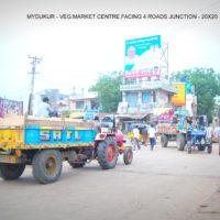 Fixbillboards Vegetablemarket Advertising in Mydukur – MeraHoardings Vacant Outdoor