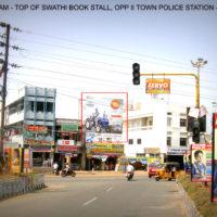 Hoardings Iitownpolicestation Advertising in Khammam – MeraHoardings
