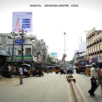 Srinivasacenter Fixbillboards Advertising in Nandyal – MeraHoardings