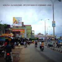 Hoardings Korutlabusstand Advertising in Karimnagar – MeraHoardings