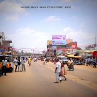 Fixbillboards Bustandnagarkurnool In Mahbubnagar – MeraHoardings