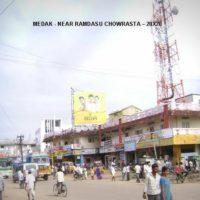 Fixbillboards Ramadasucircle Advertising in Medak – MeraHoardings