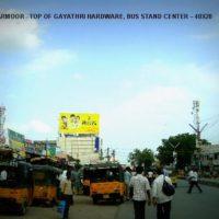 Fixbillboards Busstandarmoor Advertising Nizamabad – MeraHoardings