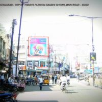 Gandhichowk Fixbillboards Advertising in Nizamabad – MeraHoardings