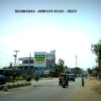 Fixbillboards Armoorrd Advertising in Nizamabad – MeraHoardings