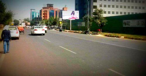 Spicemallnodia Unipoles Advertising in Delhi – MeraHoardings