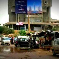 Gaurmall Unipoles Advertising in Ghaziabad – MeraHoardings