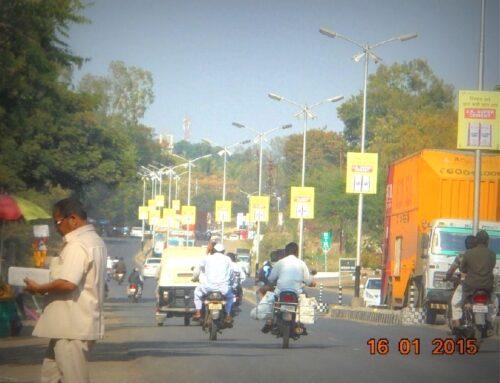 Dspsqr Polekiosk Advertising in Ahmednagar – MeraHoardings