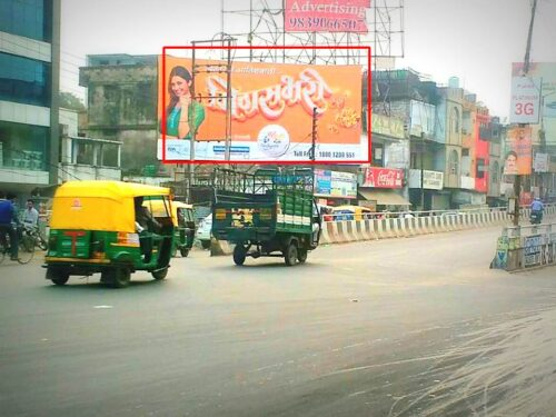 Advertisement Hoardings in Nishatganj Flyover | Outdoor Ads in Lucknow