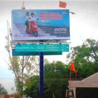 Unipoles Railwaystation Advertising in Nizamabad – MeraHoardings