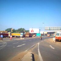 Dunlopcrossing Billboards Advertising in Kolkata – MeraHoardings