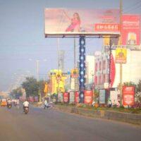 Unipoles Vinaynagar Advertising in Nizamabad – MeraHoardings