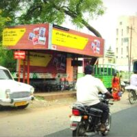 Busshelters Fourroads Advertising in Erode – MeraHoarding