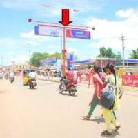Trafficsign Sivagangabusstand Advertising in Sivaganga – MeraHoarding