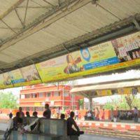 Buxar Hoarding Advertising in Parsa Bazar Railway Station