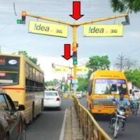 Trafficsignboards Aavinmilkroad Advertising in Madurai – MeraHoarding