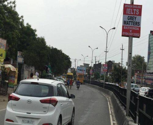 Ghora Chowk Pole Kiosks In Bathinda Punjab – Merahoardings