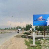 Magam Gulmarg Road Unipoles Advertising In Srinagar - MeraUnipoles Advertisings In Jammu And Kashmir – Mera Unipoles