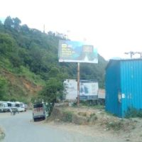 Hoarding Advertising in Entrance Bageshwar, hoarding advertising in Almora, Hoardings in Almora, outdoor advertising in Almora