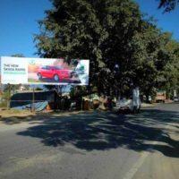 Hoarding design in Haldwani Hyundai Showroom | Hoarding ads in Nainital