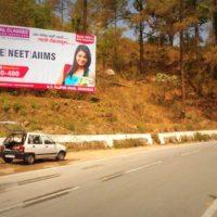 Hoarding Advertising in Jeolikote   Hoarding Advertising cost in Nainital