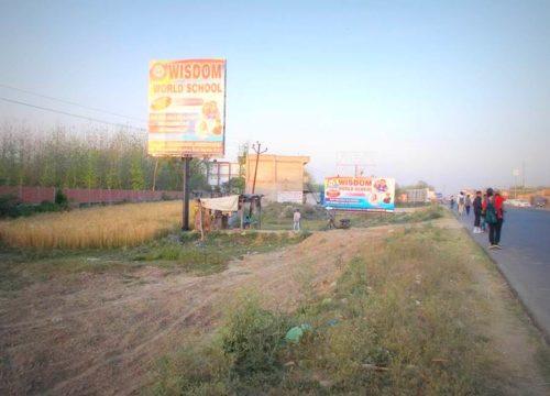 Hoarding Advertising in Crystal World, Haridwar | Hoarding Advertising Online Booking