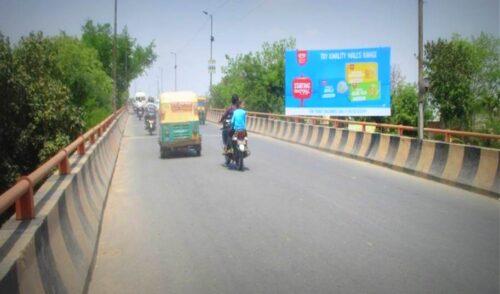Billboard Advertising in Sikandra Flyover | Billboard Hoarding in Agra