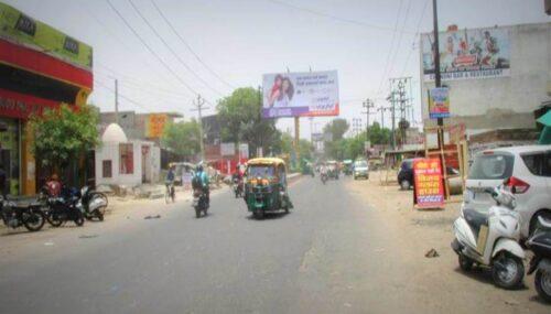 Outdoor Advertising in Maruti Estate Xing | Advertising board in Agra