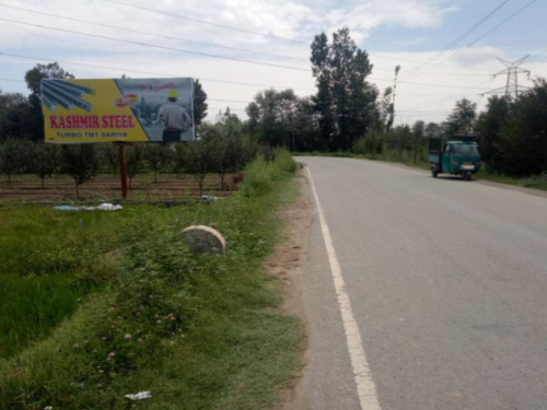 Hoarding design in Shopian Route | Hoarding ads in Srinagar