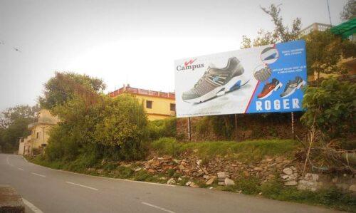 Outdoor Advertising in Byepass Road | Advertising board in Champawat