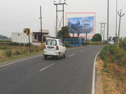 Unipole Advertising in Bijilibamba Road | Hoardings cost in Meerut