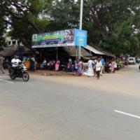 Hoarding Advertising in Namanasamutram | Bus Shelter cost in Pudukottai