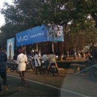 Billboard in Vadavalam Road | Hoarding advertising agency in Pudukottai